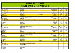 CALENDARIO under 14 I FASE ORARI aggiornati_2