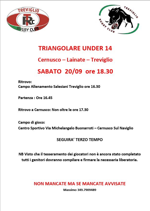 Triangolare U14